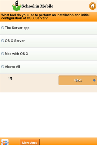 Apple OS X Server exam Prep - screenshot