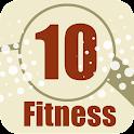10 Fitness App logo