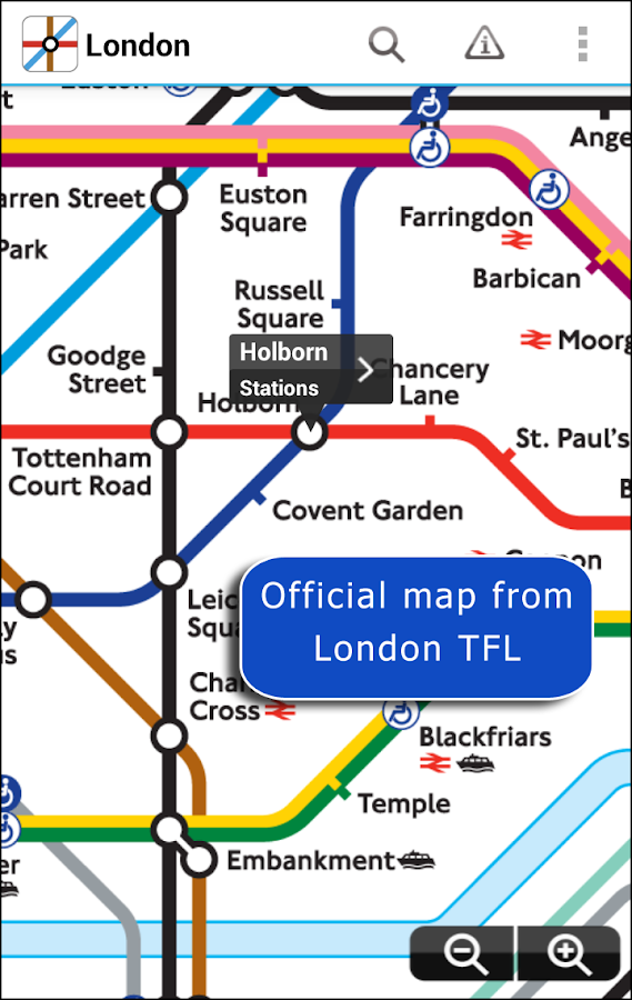 London Underground- screenshot