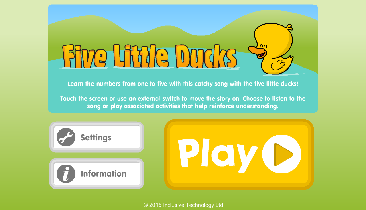Five Little Ducks- screenshot
