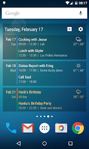 Event Flow Calendar Widget v1.3.8