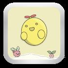GOSMS Cute Beans THEME icon