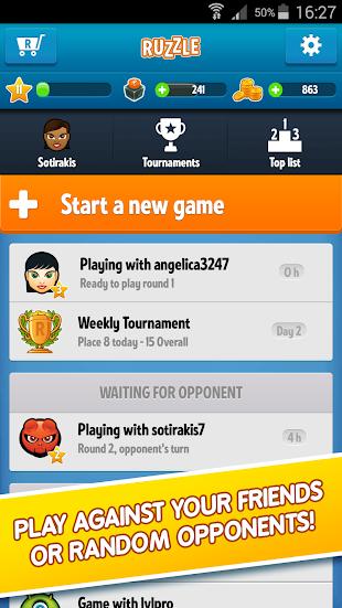 Ruzzle- screenshot thumbnail