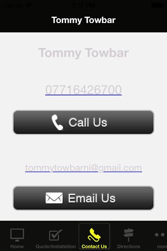 Tommy Towbar