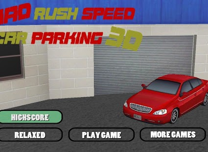Mad Rush Speed Car Parking 3D - screenshot thumbnail