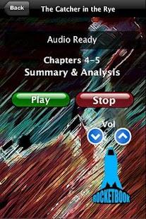 Audio- Catcher in the Rye- screenshot thumbnail