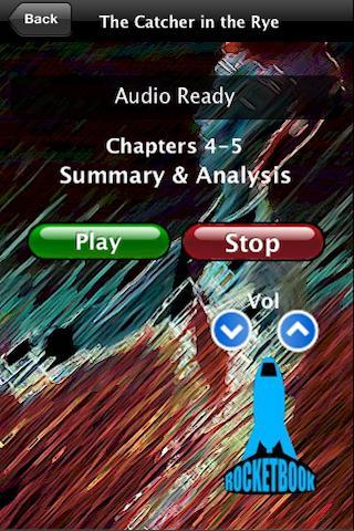 Audio- Catcher in the Rye- screenshot