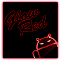 GOKeyboard Theme Glow Red icon
