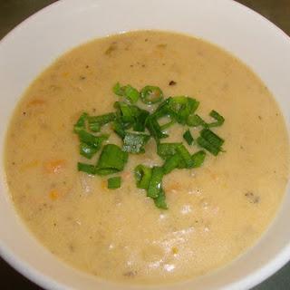 Cheesy Potato Soup.
