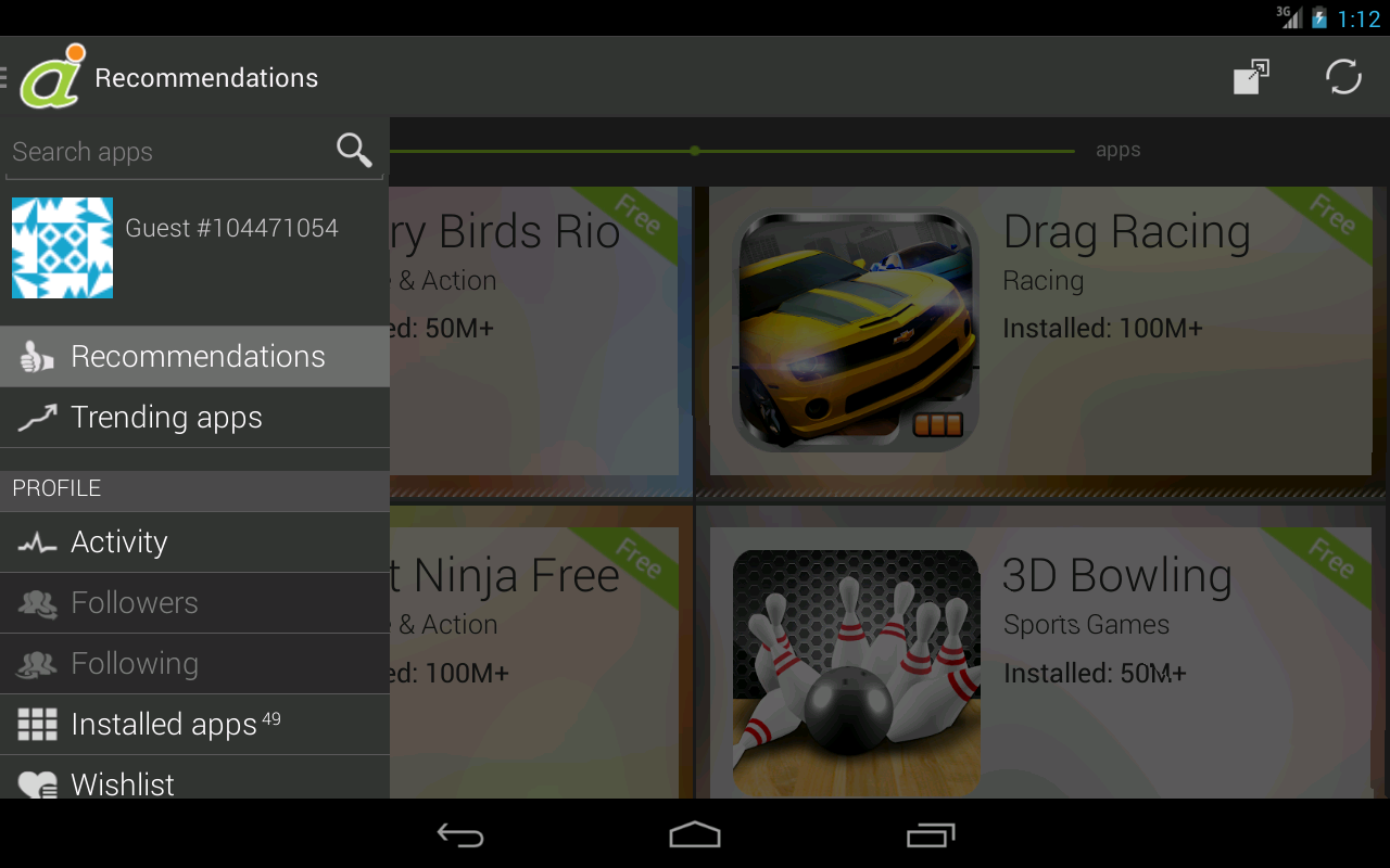 Android Informer - screenshot
