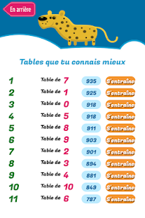 Quix Tables de multiplication – Vignette de la capture d'écran