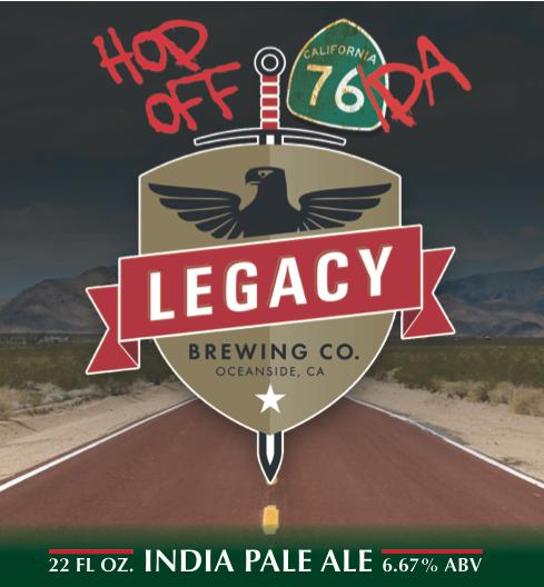 Logo of Hop Off 76 IPA