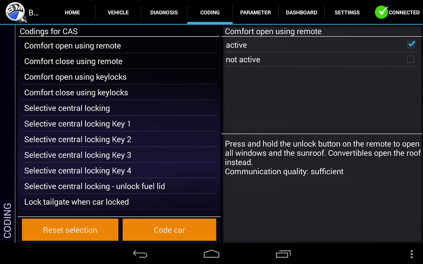 iViNi-apps for BMW - BMWhat - screenshot