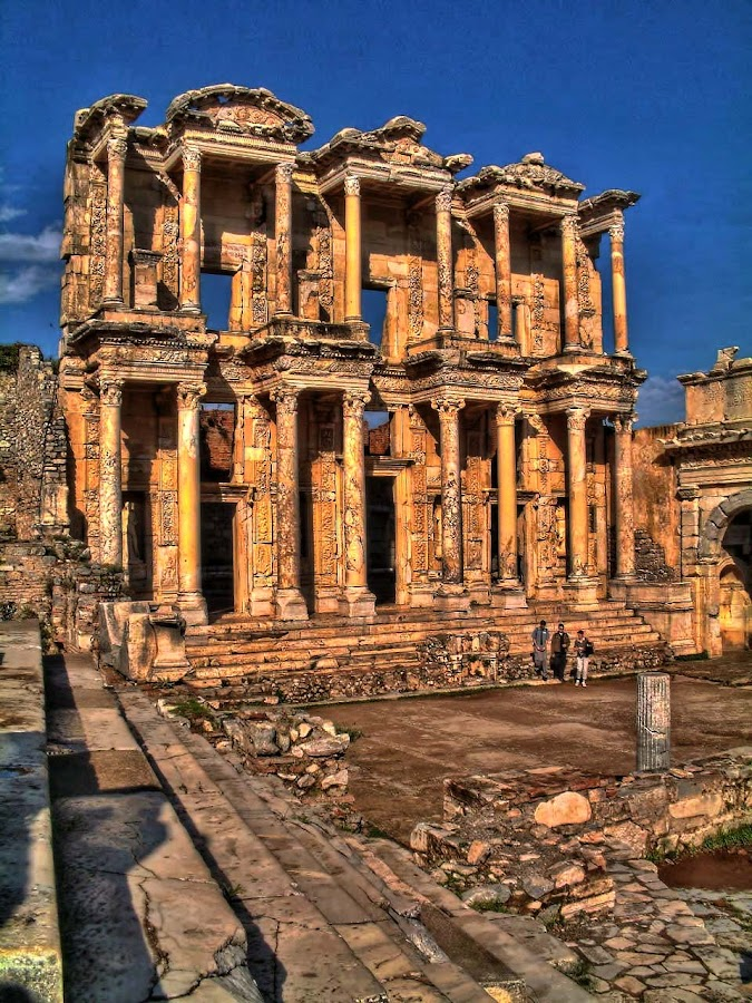 Ephesus by Anthony Charlesworth - Buildings & Architecture Public & Historical ( libary, ancient greek, ruins, turkey, roman )