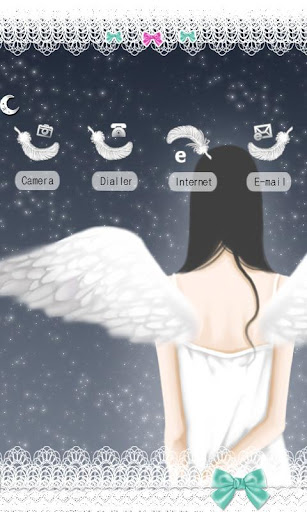 CUKI Theme Angels White Wing