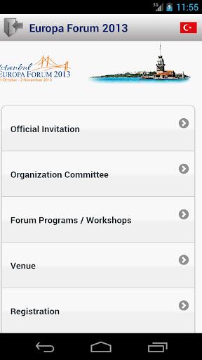 Europa Forum 2013