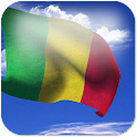 3D Mali Flag + icon