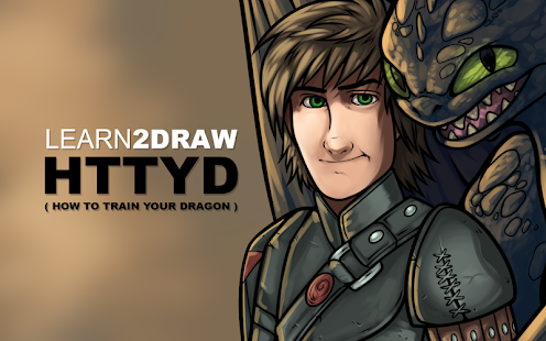 How to Draw Train Your Dragon