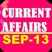 Sep 13: GK Current Affair News