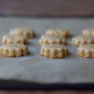 Apple and Carrot Shortbread.