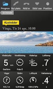 Kustväder - SSRS - screenshot thumbnail