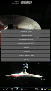 Agenda de conciertos- screenshot thumbnail