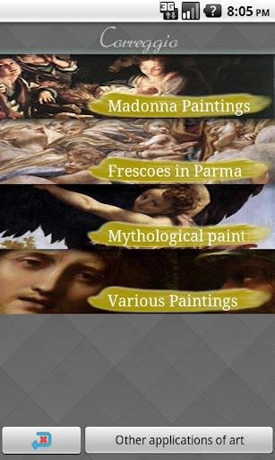 Correggio Art Wallpapers