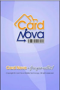 Card Nova Loyalty Card Manager screenshot 0