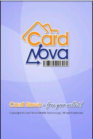 Card Nova Loyalty Card Manager- screenshot