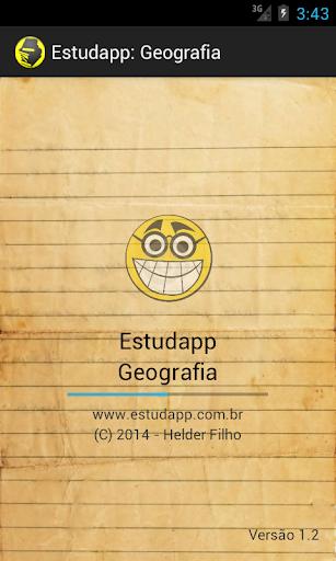 Estudapp: Geografia