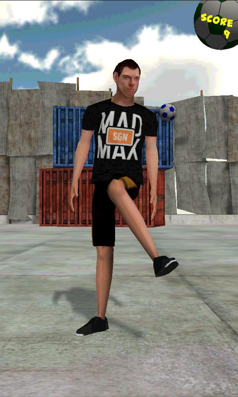 Footbag Frenzy Free- screenshot