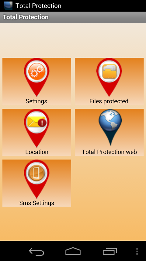 Anti Theft - Total Protection - screenshot