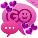 Theme Hearts for GO SMS Pro icon