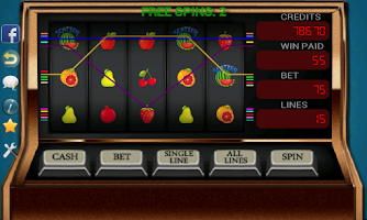 Screenshot of Five Reel Slot Machine