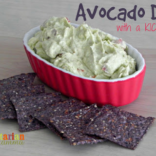 Avocado Dip with a KICK – #glutenfree #vegan