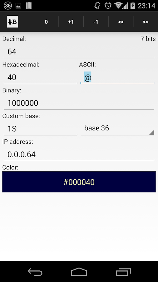 Binary Converter- screenshot