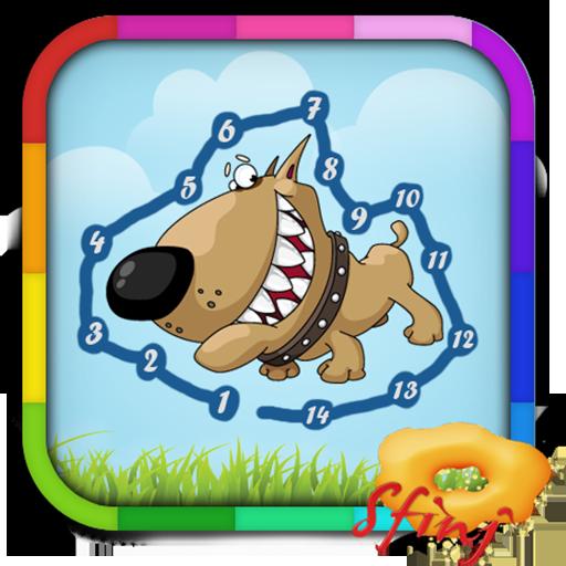 아이들은 게임 - 할 점, D를 연결 休閒 App LOGO-硬是要APP