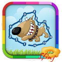 Kids Connect Dots Animals Free icon