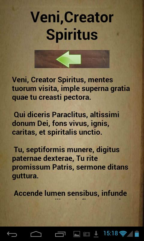 Dei Latin Prayer 75