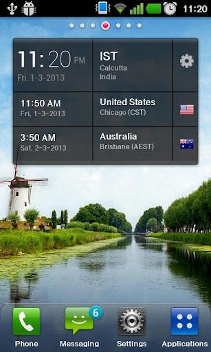 World Time Widget 2.0