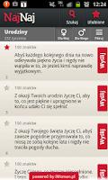 Screenshot of NajNaj Życzenia