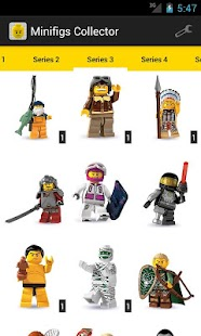 Minifigs Collector for LEGO®- screenshot thumbnail