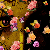 Falling Colorful Roses 3D LWP