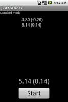 Screenshot of Just 5 Seconds