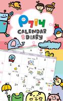 Screenshot of P714 Calendar