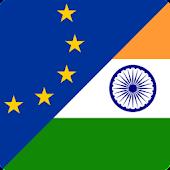 Euro a Rupia India