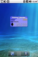 Screenshot of Fishing Calendar