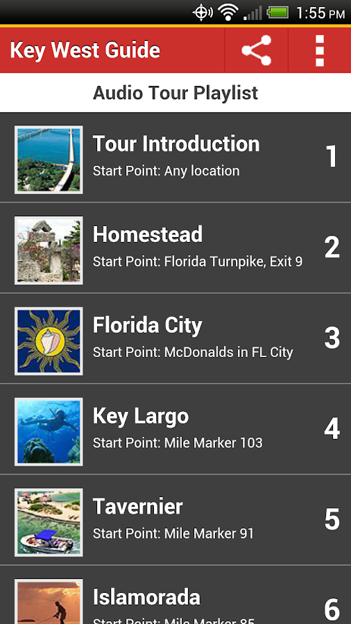 Key West Tour Guide - screenshot
