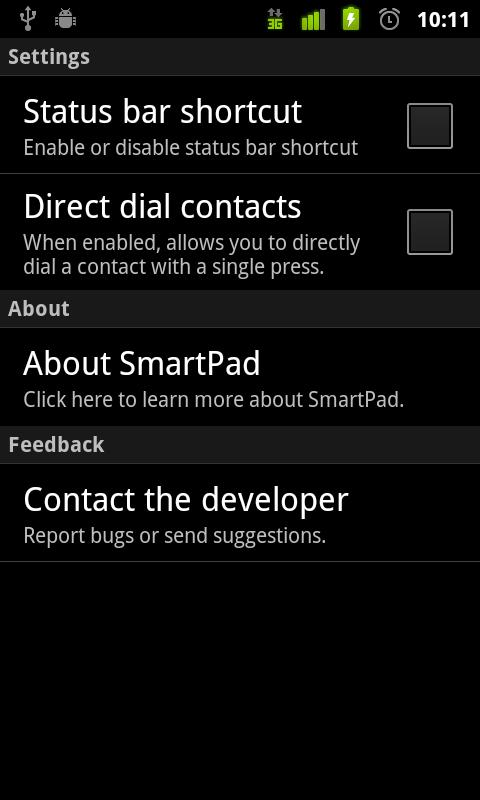 SmartPad Full - screenshot