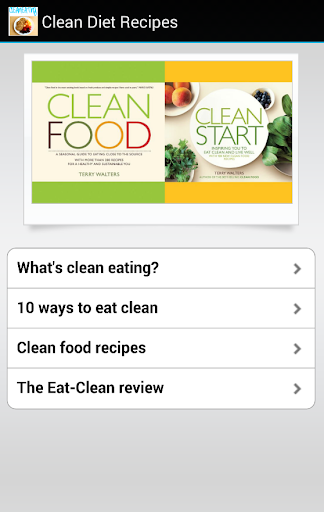 clean diet recipes
